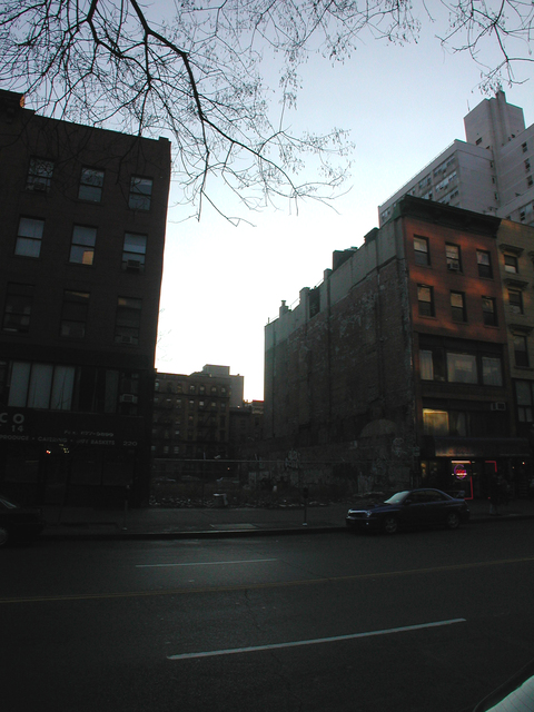 Site of the demolished RKO Jefferson Theatre