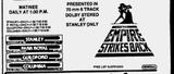 The Empire Strikes Back listing