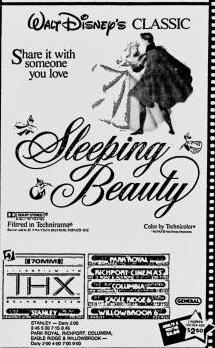 Sleeping Beauty listing