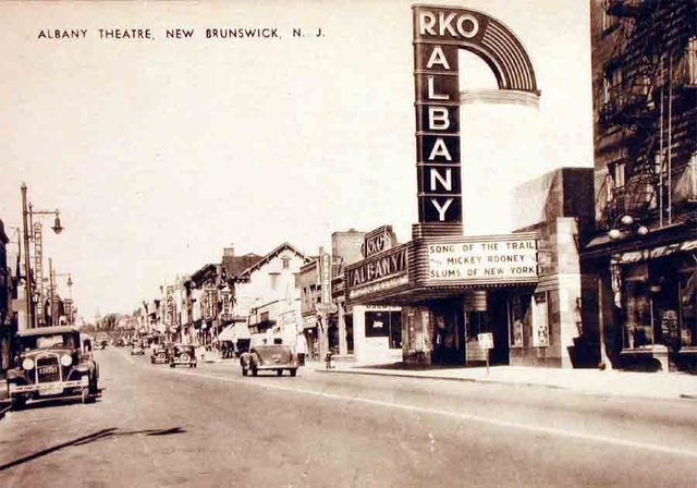 Postcard of the Albany Theater