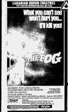 The Fog listing