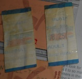 The Haunting & The Blair Witch Project Ticket Stubs