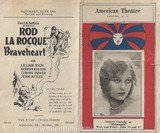 American Theater Program for June, 1926