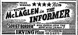 The Informer advert, NY TImes 6.21.1945