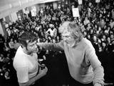 Oliver Reed & Ken Russell at the Kings Theatre, courtesy of Pete Brown.