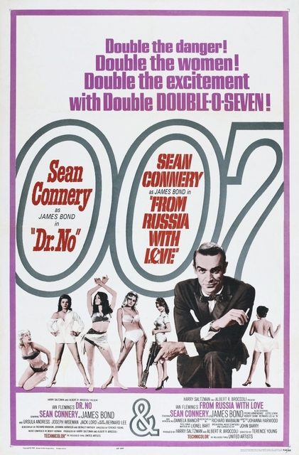 DR.NO  FROM RUSSIA WITH LOVE