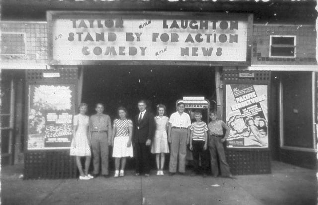 Crescent Theatre, 1943, Dade City, FL
