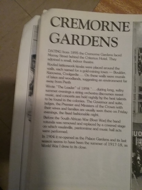 Cremorne Theatre and Palace Gardens