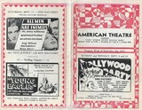 American Theater Program for September 9, 1934