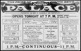 NOVEMBER 2, 1922 OPENING AD