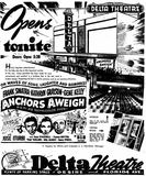 Grand opening ad from January 25th, 1946