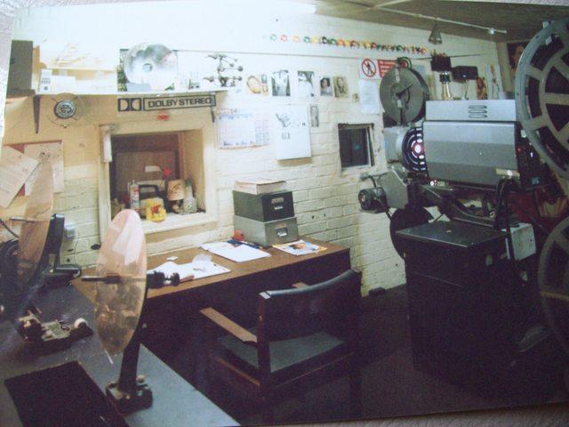 Apollo Stafford projection box for screen 1. 1994