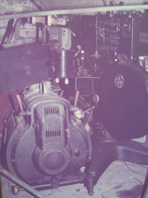 Regal Cinema, Leek. Projectors (BTH) After closure of bingo. 1984
