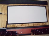 Apollo Grand Cinema Leek. Screen in one of the stalls conversions1985