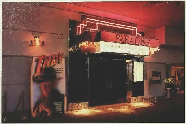 Famous Players Victoria Terrace Paradise Auditorium Entrance