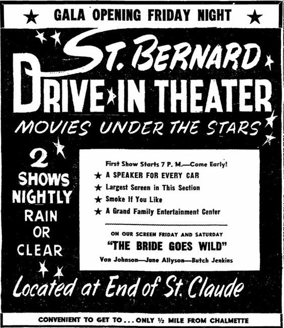 July 1st, 1949 grand opening ad