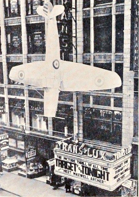 Trans-Lux 617 Washington Street  1941