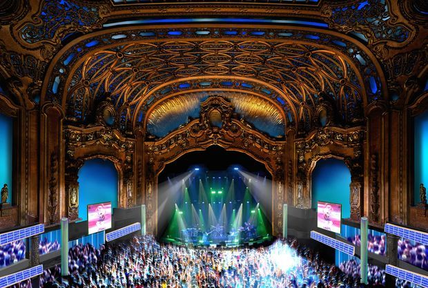 Brooklyn Paramount 2017 Renovation Design Rendering