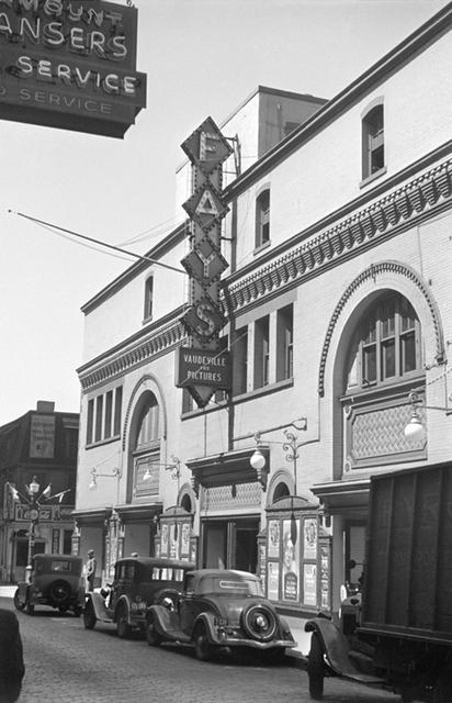 Fays Theatre, Providence, RI -- 1937