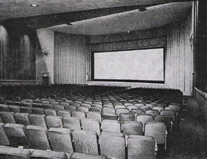 Stanley Warner Route 4 Theatre auditorium