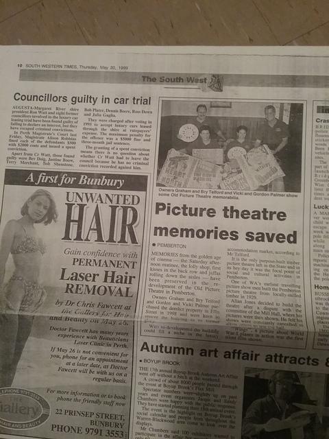 Pemberton Picture Theatre