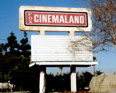 Fox Cinemaland Theatre exterior marquee