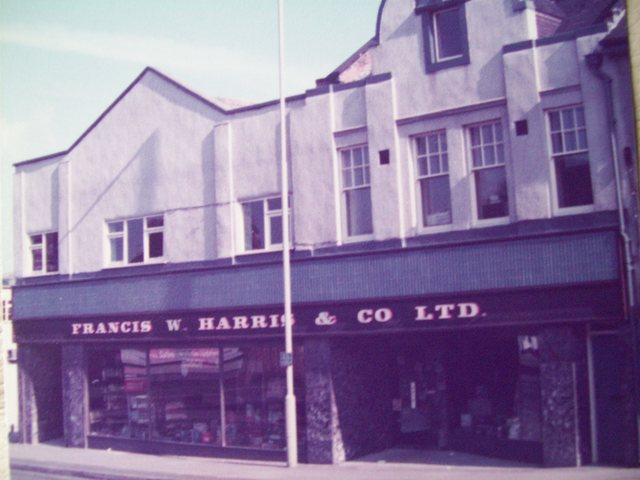 As part of Harris`s in aug 1984