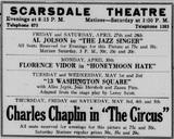 Scarsdale Plaza Theatre