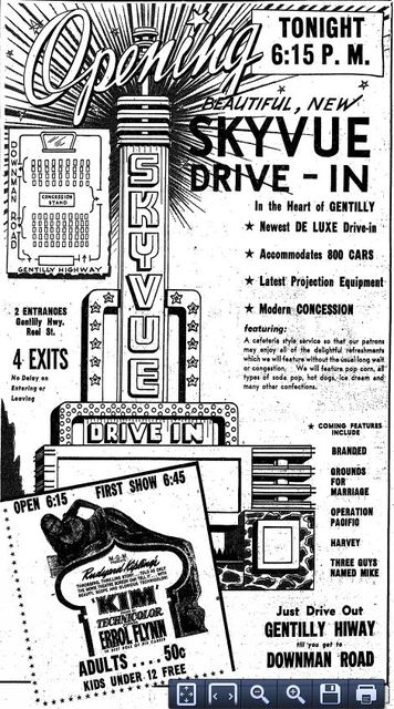 March 9th, 1951 grand opening ad