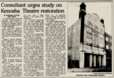 KENOSHA Theatre; Kenosha, Wisconsin
