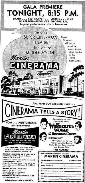 January 17th, 1963 grand opening ad