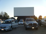 Parma Motor Vu parking lot before the movies (06-30-2017) - View 1