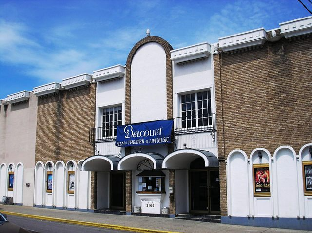 Current Belcourt Theatre Enterance