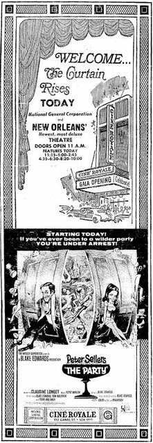 Grand opening ad from April 18th, 1968