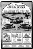 Grand opening ad from August 4th, 1967 along with the Lakeside Cinema