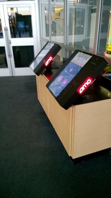 the Ticket Kiosks