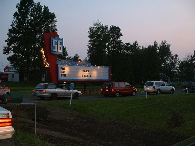 56 auto drive in in massena ny cinema treasures for Drive in movie theaters still open
