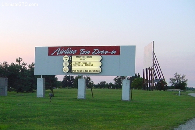 Airline Twin Drive In Winchester Indiana