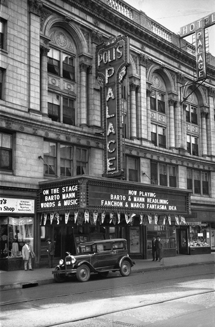 Poli's Palace Theatre, Waterbury, CT -- 1929
