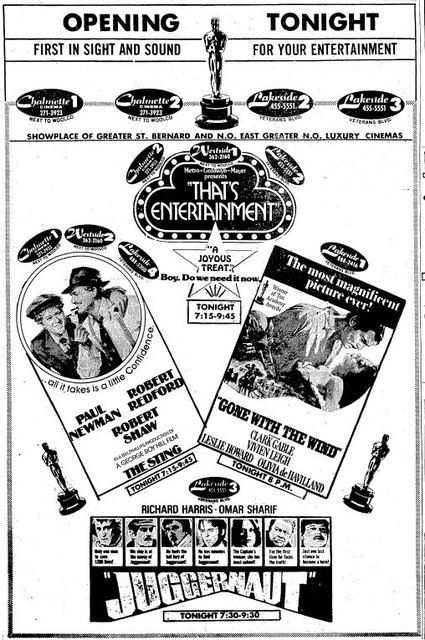 November 1st, 1974 grand opening ad
