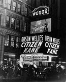 """Citizen Kane"" Opening, 1941 photo courtesy of Chuck Kuenneth."