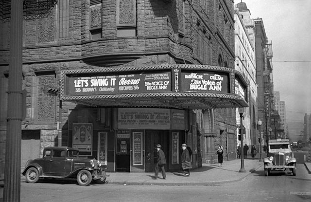 RKO Shubert Theatre, Cincinnati, OH -- 1936