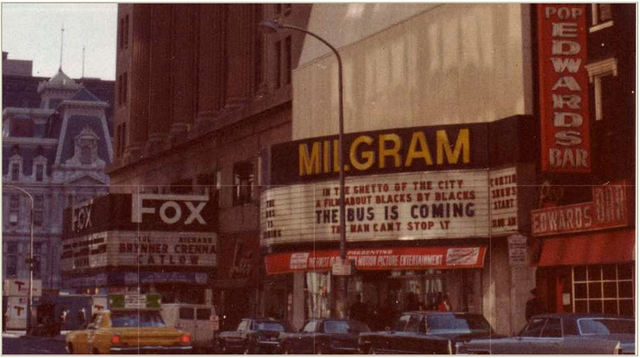 Milgram & Fox Theaters, Market St, Philadelphia, PA