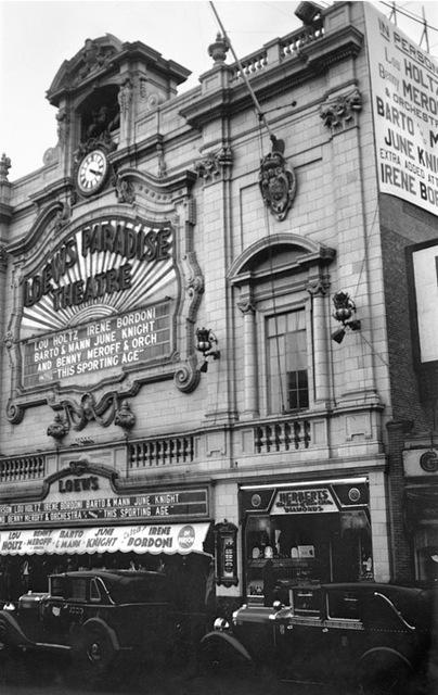 Loew's Paradise Theatre, Bronx, NY –- 1932