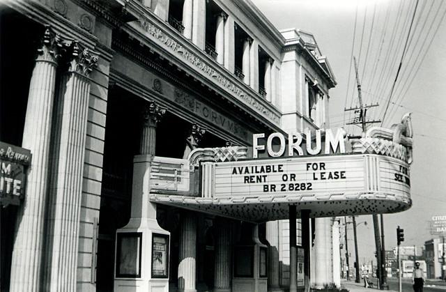 Forum Theatre exterior