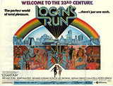 "Astor Plaza ""Logan's Run"" subway poster"
