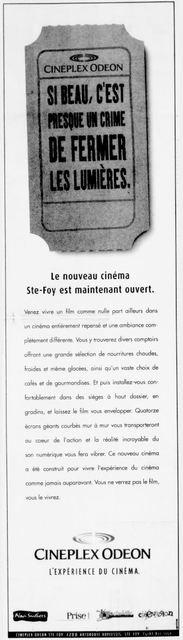 Cineplex Odeon Sainte-Foy