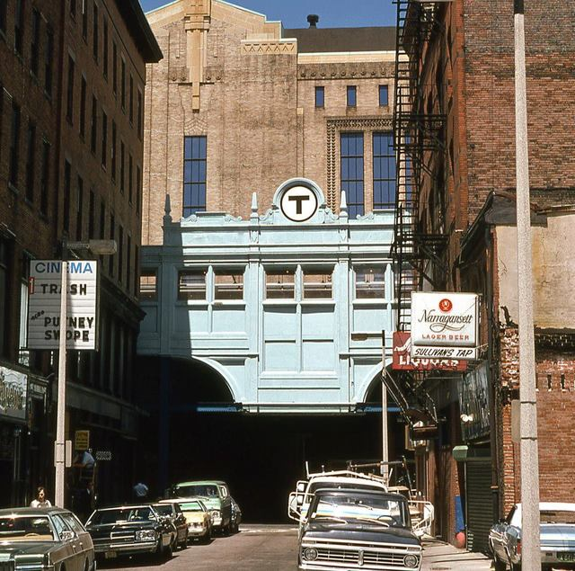 1974 photo courtesy of the Dirty Old Boston Facebook page.