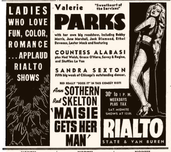1942 print ad via David Floodstrand.