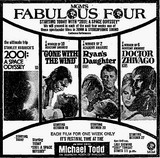 "Michael Todd Theatre ""MGM's Fab Four"" engagement (All in 70MM!!)"